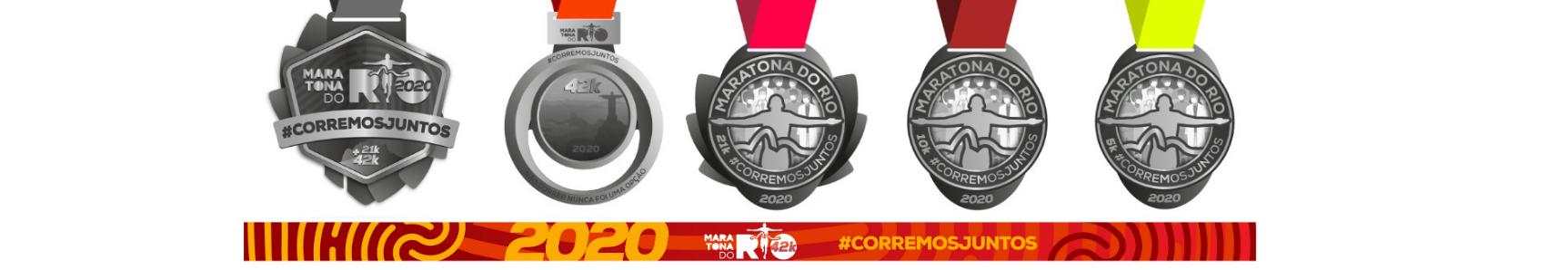 Gravação de Medalhas | Maratona do Rio