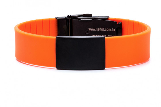 Pulseira Self ID Elite Black Edition