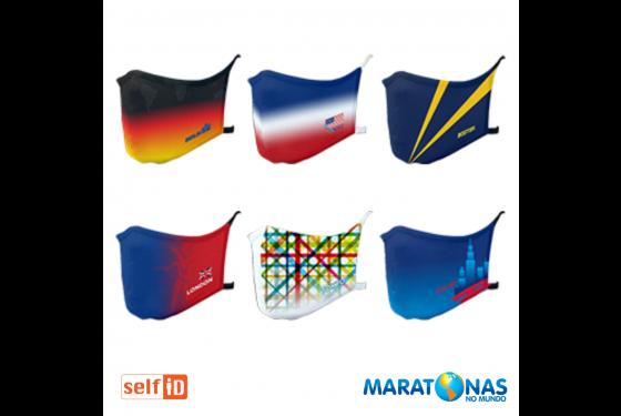 Kit Máscaras | Self ID + Maratonas no Mundo